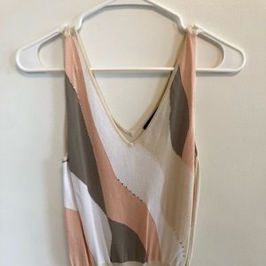 The Limited tan tank top